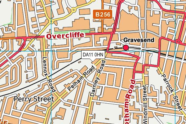 Bronte School map (DA11 0HN) - OS VectorMap District (Ordnance Survey)
