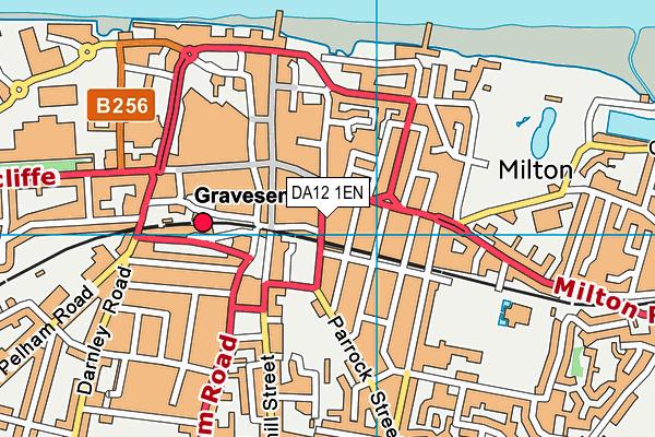DA12 1EN map - OS VectorMap District (Ordnance Survey)