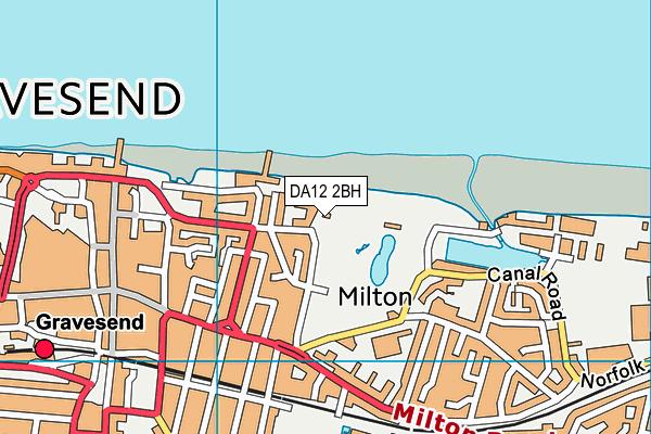 DA12 2BH map - OS VectorMap District (Ordnance Survey)