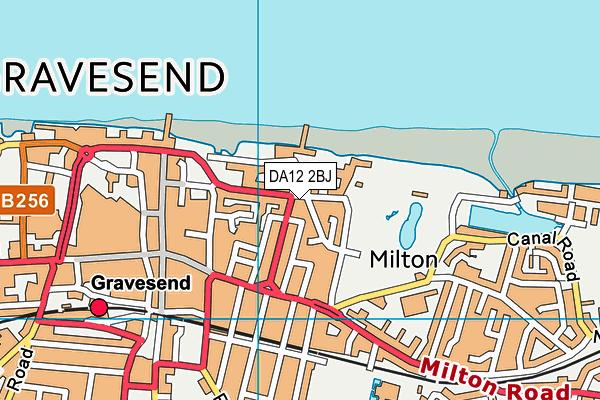 DA12 2BJ map - OS VectorMap District (Ordnance Survey)