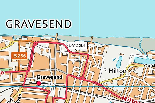 DA12 2DT map - OS VectorMap District (Ordnance Survey)