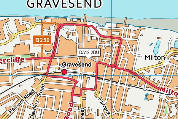DA12 2DU map - OS VectorMap District (Ordnance Survey)