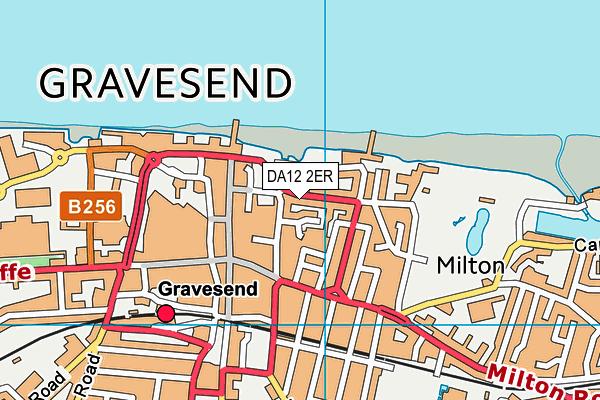 DA12 2ER map - OS VectorMap District (Ordnance Survey)