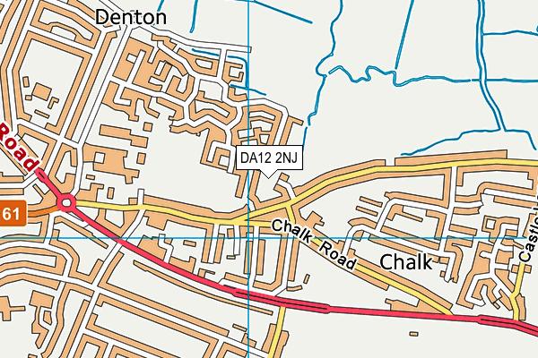 DA12 2NJ map - OS VectorMap District (Ordnance Survey)