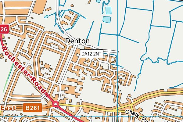 DA12 2NT map - OS VectorMap District (Ordnance Survey)