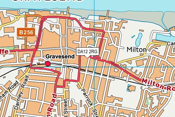 Shapers (Gravesend) map (DA12 2RG) - OS VectorMap District (Ordnance Survey)