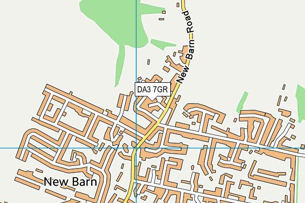 DA3 7GR map - OS VectorMap District (Ordnance Survey)