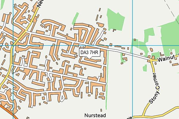 DA3 7HR map - OS VectorMap District (Ordnance Survey)