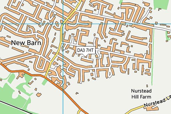 DA3 7HT map - OS VectorMap District (Ordnance Survey)