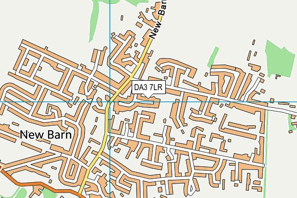 DA3 7LR map - OS VectorMap District (Ordnance Survey)