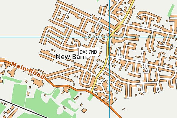 DA3 7ND map - OS VectorMap District (Ordnance Survey)