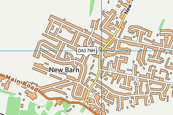 DA3 7NH map - OS VectorMap District (Ordnance Survey)