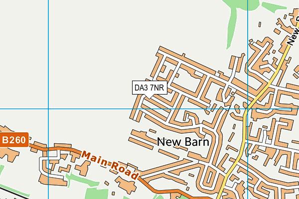 DA3 7NR map - OS VectorMap District (Ordnance Survey)