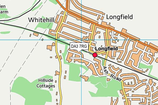 DA3 7RG map - OS VectorMap District (Ordnance Survey)