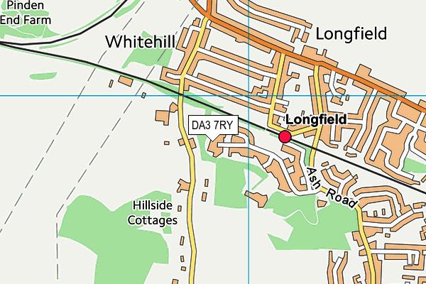 DA3 7RY map - OS VectorMap District (Ordnance Survey)