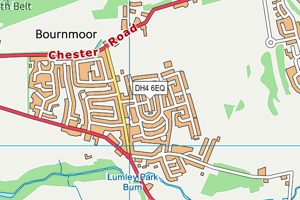 Map of NORTH EAST PLUMBING AND GAS SERVICES LTD at district scale