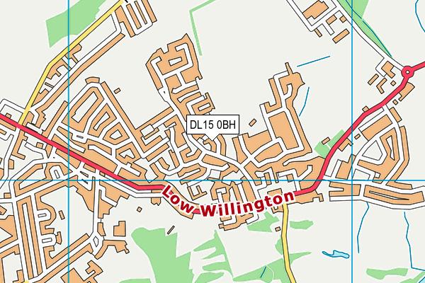 Map of WALKER & WALKER PROPERTIES LTD at district scale