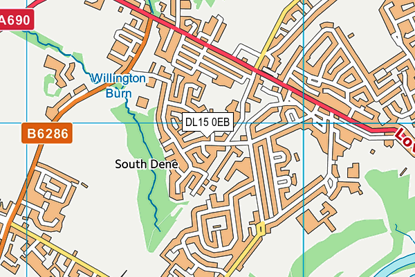 Map of HEATON SCAFFOLDING LTD at district scale