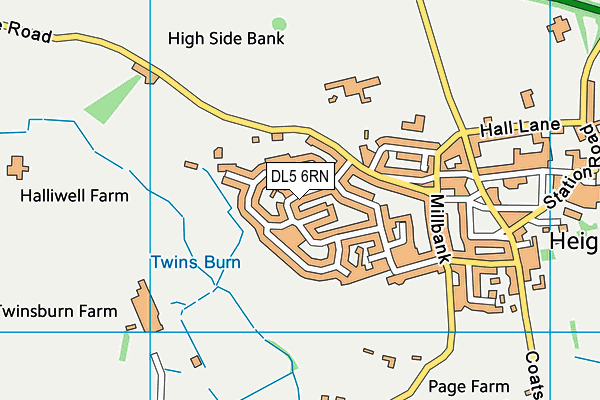 Map of NEIL STANIFORTH CONSULTANCY LIMITED at district scale