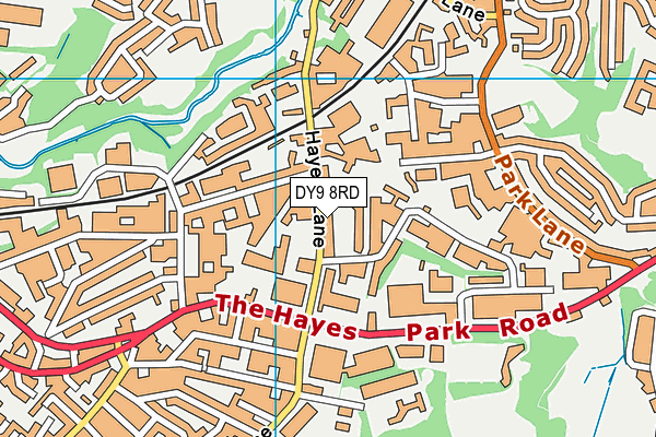 Map of PRESTIGE SPORTS (DUDLEY) LIMITED at district scale