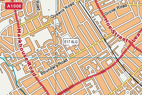 Thomas Gamuel Primary School map (E17 8LG) - OS VectorMap District (Ordnance Survey)