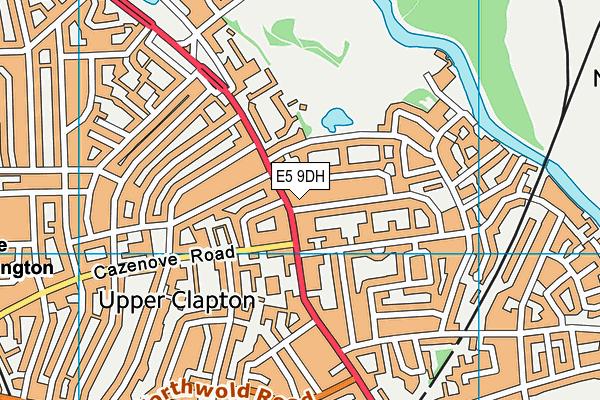Beis Trana Girls' School map (E5 9DH) - OS VectorMap District (Ordnance Survey)