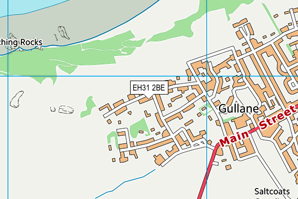 Map of WHATTON LODGE LTD at district scale