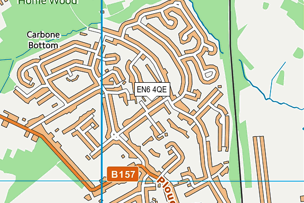 Map of EYELEARNING LTD. at district scale
