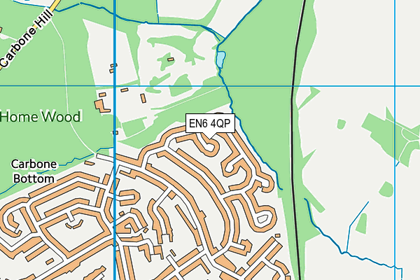 Map of CUFFLEY ELECTRICS LTD at district scale
