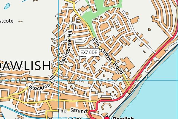 Oakwood Court College (Phoenix Learning Care Ltd) map (EX7 0DE) - OS VectorMap District (Ordnance Survey)