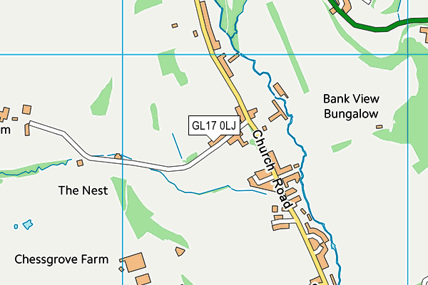 Map of HARRIS FENCING & LANDSCAPES LTD at district scale