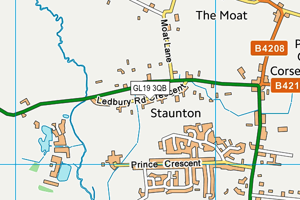 Map of MPTB LTD at district scale