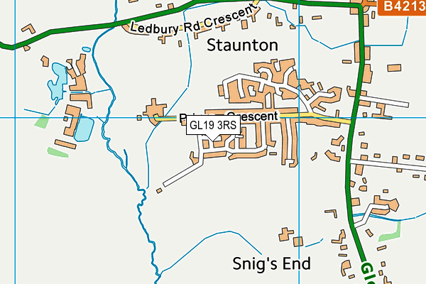 Map of GOLD CARPENTRY LTD at district scale