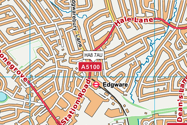 Map of A+ HEATING AND PLUMBING LTD at district scale