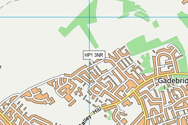 HP1 3NR map - OS VectorMap District (Ordnance Survey)
