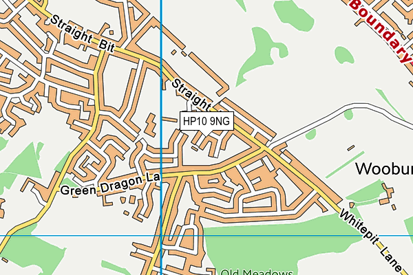 Map of JUTEBERRY LTD at district scale