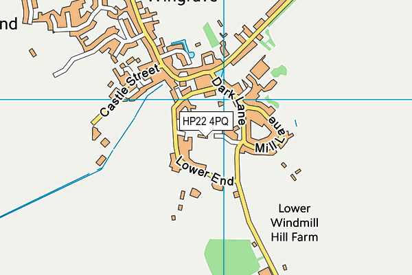 Map of ANDY CROMPTON LTD at district scale
