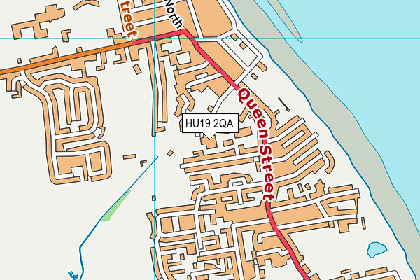 Eastriding Leisure (Withernsea) map (HU19 2QA) - OS VectorMap District (Ordnance Survey)