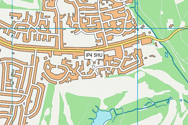 IP4 5HU map - OS VectorMap District (Ordnance Survey)