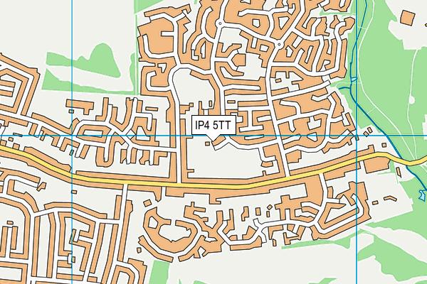 IP4 5TT map - OS VectorMap District (Ordnance Survey)