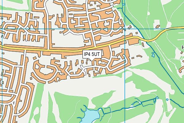 IP4 5UT map - OS VectorMap District (Ordnance Survey)