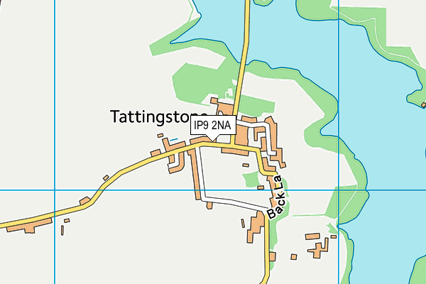 Tattingstone Church of England Voluntary Controlled Primary School map (IP9 2NA) - OS VectorMap District (Ordnance Survey)