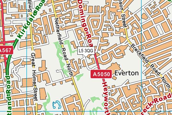 Everton England Map.The Beacon Church Of England Primary School Liverpool Data