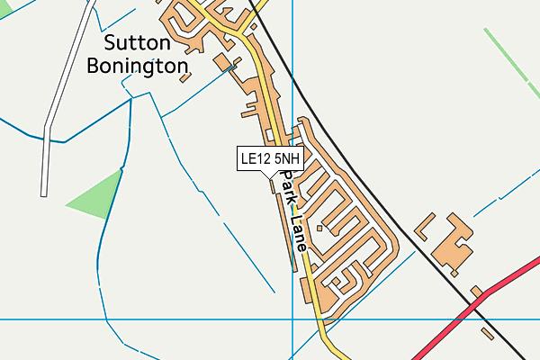 Sutton Bonington Primary School map (LE12 5NH) - OS VectorMap District (Ordnance Survey)