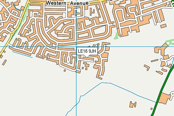 Farndon Fields Primary School map (LE16 9JH) - OS VectorMap District (Ordnance Survey)