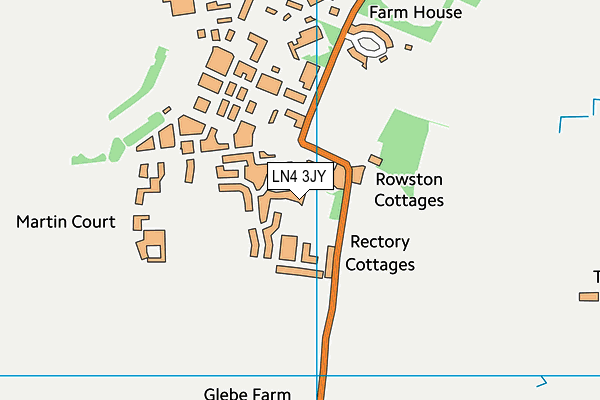 Digby the Tedder Primary School map (LN4 3JY) - OS VectorMap District (Ordnance Survey)