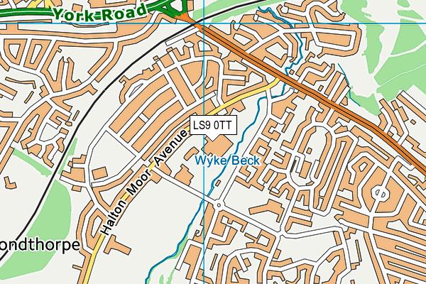 Corpus Christi Catholic College map (LS9 0TT) - OS VectorMap District (Ordnance Survey)