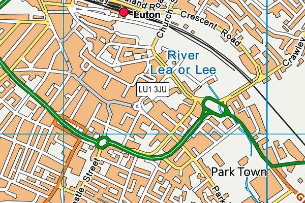 Lu1 3ju Maps Stats And Open Data