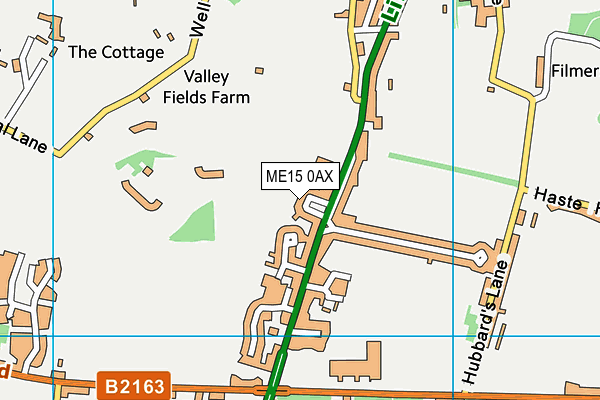 Map of BLACKWOOD BAYNE LTD at district scale