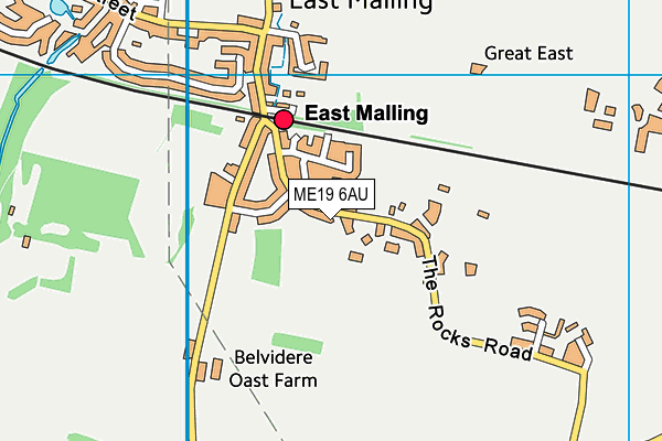 Map of CROSSROADS COACHING SERVICES LTD at district scale